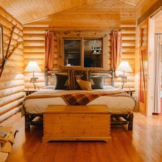 Log SidingA LogCozy CabinDiy Log CabinLog Cabin LivingCabin IdeasHouse Ideas Log HomesLog Wall
