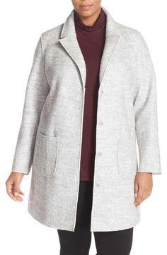 73664f8fbb8 Halogen® Notch Collar Topper (Plus Size) Plus Size Clothing Sale