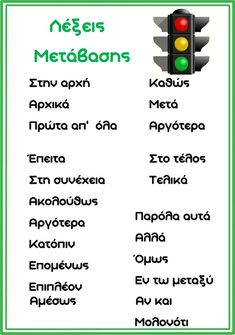 Vocabulary - ΠΡΩΤΟ ΚΟΥΔΟΥΝΙ Greek Language, Speech And Language, Education Center, Special Education, Learn Greek, School Levels, School Staff, School Lessons, Study Motivation