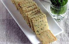 Receita de Cream cracker Low Carb de Linhaça