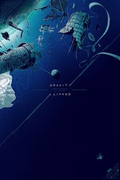 Remake: Movie Posters - Gravity by Kevin Tong