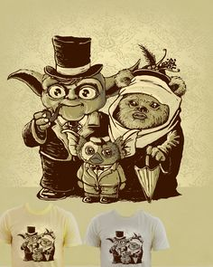 Yoda + Ewok = Gizmo   -it makes sense