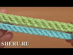 Нежный шнур гусеничка крючком Урок 97 Crochet Cord How to // irina fedorova