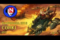 CORKI ADC al final reviento Ep. 15 - League of Legends en español