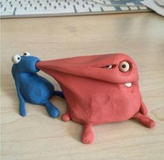 33 Funny Pics to Up Your Humor Setting Clay Animation, Clay Monsters, Play Clay, Polymer Clay Crafts, Stop Motion, Art Plastique, Clay Creations, Clay Art, Cool Artwork