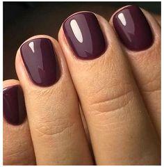 Toe Nail Color, Fall Nail Colors, Gel Color, Nail Polish Colors, Gel Polish, Summer Colors, Dark Colors, Colour Colour, Plum Nails