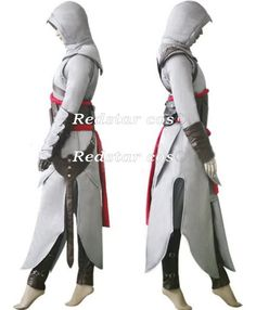 Assassin's Creed Costume Pattern | Details about Assassin's Creed 2 II Altair Cosplay Costume Female ver