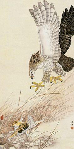 """Eagle and Rabbit"" par Mi Chunmao"