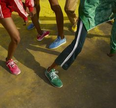 adidas Originals by Pharrell Williams: Hu Holi adicolor Collection Spring/Summer 2018 Pharrell Williams, Maisie Williams, Holi Story, Adidas Originals, Indiana, Viviane Sassen, Collection Capsule, Festival Celebration, Foot Locker