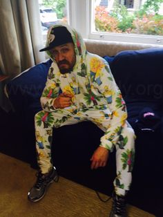 """Leila Shirazi gifting suite""""Cannes under the belt - time for the yearly freebies that come in and  who better to model the latest """"must haves"""" than … Yours muddafqn  troooly""""""""Who doesn't need a Simpsons onesie!"""""""