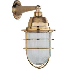 Tuscanor - Industrial Style Cast Bronze Wall Light - TUS39