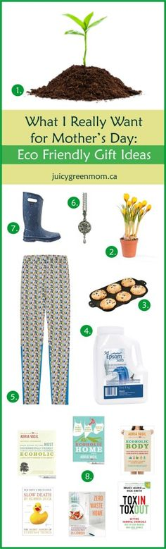 Looking for #ecofriendly gift ideas for Mother's Day? Here's what I really want!