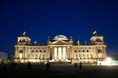 #Berlin #Reichstag  --  Germany's Parliment  --  The glass dome symbolizes the need for transparency in government.  Berlin, Germany