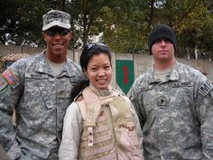 Michelle with a couple of empire foot soldiers for the republican one percent