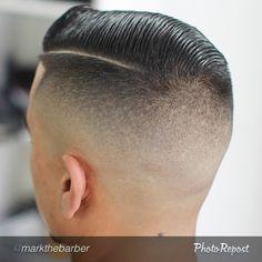 Haircut Slick Hairstyles, Classic Hairstyles, Top Hairstyles, My Hairstyle, Hair Men Style, Hair And Beard Styles, Barber Haircuts, Haircuts For Men, Mens Fade Cuts