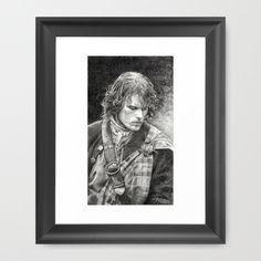 Ellaine Framed Art Print-wonderful