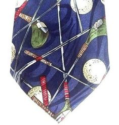 Mens Necktie Golf Clubs Navy Blue Hand Sewn 3.75 x 58.5 inches Steven Harris | eBay Casual Wear Women, Navy Blue Background, Tie Colors, Hand Sewn, Golf Clubs, Red And Blue, Neck Ties, Etsy Shop, Wonderful Things