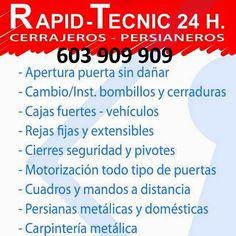 RapidTecnic Valencia 603 909 909: Cerrajeros de Catarroja 603 909 909
