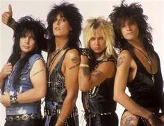 Motley Crue.... still love 'em!!!  Listening to music from the younger years is fun