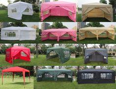 10x10 10x20 EZ Pop UP Wedding Party Tent Folding Gazebo C&ing Canopy W/ Sides & Have to have it. E-Z Up 12 x 12 Regency Canopy - $239.99 ...