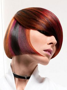 Pictures of Short Hair Color New Hair Color Trends 2013 Cute Girls Hairstyles, Funky Hairstyles, Summer Hairstyles, Hair Styles 2014, Short Hair Styles, Special Effects Hair Dye, Color Fantasia, Hair Photo, Crazy Hair