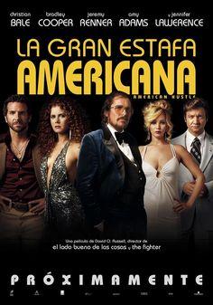"""""""La gran estafa americana"""" Setentera total y con grandes actuaciones"""