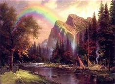 Thomas Kinkade- RIP...what a wonderful talent and beauty he shared with the world..may he rest in peace.