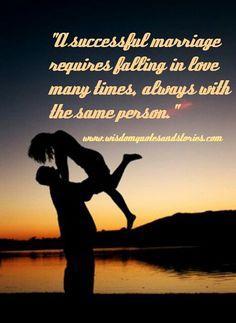 A Successful Marriage | Wisdom Quotes & Stories
