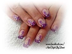 Purple power - www.facebook.com/NailStyleByDani