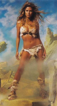 Heidi Klum for GQ Magazine 2002.