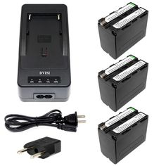 DuraPro 2Pcs EN-EL15 ENEL15 Battery +USB Dual Charger for