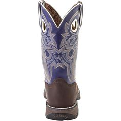 lady Rebel: Flirt Women's Ink Saddle-Lace Western - Style #RD3576 - Durango Boot Company