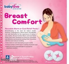 Babylove: Breast Comfort Warm & Cold Relief Pack ( 1pr ) RM39.90