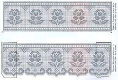 crochet em revista: esquemas crochet toalhas de mãos