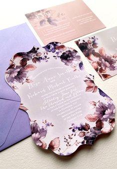 Die Cut wedding invitations floral garden wedding shabby chic SAMPLE DIE CUT on Etsy, $4.18 AUD