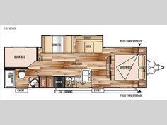 Floorplan - 2016 Forest River RV Wildwood X-Lite 262BHXL