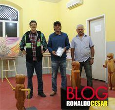 Espedito Dias, Cláudio Gonçalves e Mestre Fida expõem no Centro Cultural de Garanhunshttps://swki.me/zAfwl19J              CURTA E COMPARTILHE