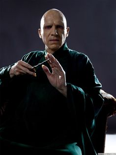 Lord Voldemort in Harry Potter.