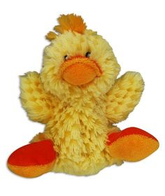 KONG Duck Dog Toy, Small, Yellow - http://weloveourpugs.net/?product=kong-duck-dog-toy-small-yellow