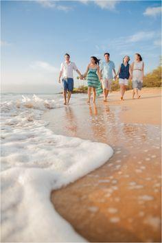 Beach Family Portraits.  #mauifamilyphotographer #hawaiiphotographer #mauivacationportraits #mauiphotographer #family #ohana