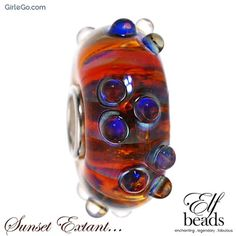 Elfbeads Sunset Extant G160314 from the Shades of Love collection GirleGo