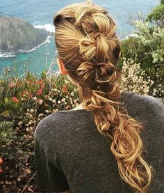 The best celebrity braid inspiration: here, Blake Lively gives us total braid envy with her long hair dor