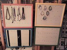 Stands for exhibition and storage of jewelry. Tutorial.