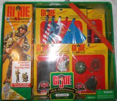 Doll Vintage G.I Joe Action Marine 40 Anniversary Edition, Hasbro,Timeless Collection, Action Figure,set by ButterandCompanies on Etsy