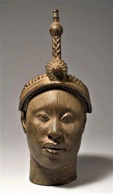 Preston, Sculpture Art, Sculptures, Yoruba People, Lion Love, African Royalty, Africa Art, Cultural Identity, Orisha