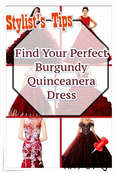 Quinceaneras are not only historically significant, they provide young girls an opportunity to celebrate their heritage through fashion, beauty, intricate rituals. Burgundy Quinceanera Dresses, 15 Dresses, Formal Dresses, Your Perfect, Our Girl, Fashion Show, Stylists, Celebrities, Opportunity