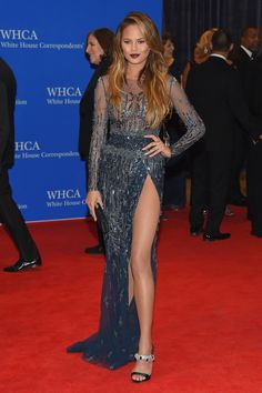 At the 101st Annual White House Correspondents' Association Dinner at the Washington Hilton in Washington, DC on April 25, 2015.   - Cosmopolitan.com