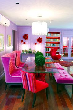 Colorful Eclectic Style reigns in Kris Aquino's Condo