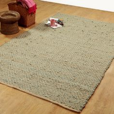 Found it at Wayfair - Hand-Woven Sage Area Rug