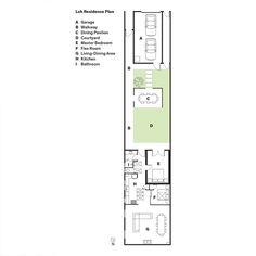 Modern San Francsico renovation floor plans